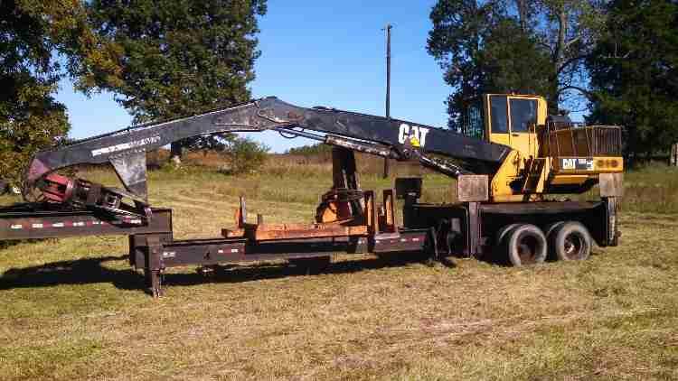 CAT 559 Log Loader   Minnesota   Forestry Equipment Sales
