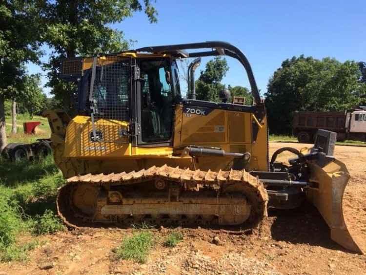 Tractor Forestry Package : John deere k dozer minnesota forestry equipment sales