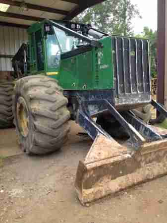 John Deere 648H D/A Grapple Skidder ***SOLD***