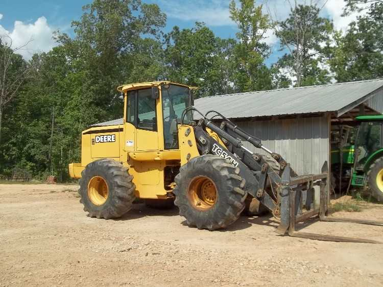 John Deere Tc54 Wheel Loader Sold Minnesota