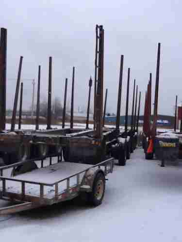 Timmins 48' 5 Axle Log Trailer ***SOLD***