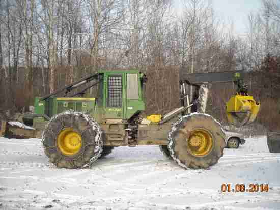John Deere 648h Skidder Minnesota Forestry Equipment Sales