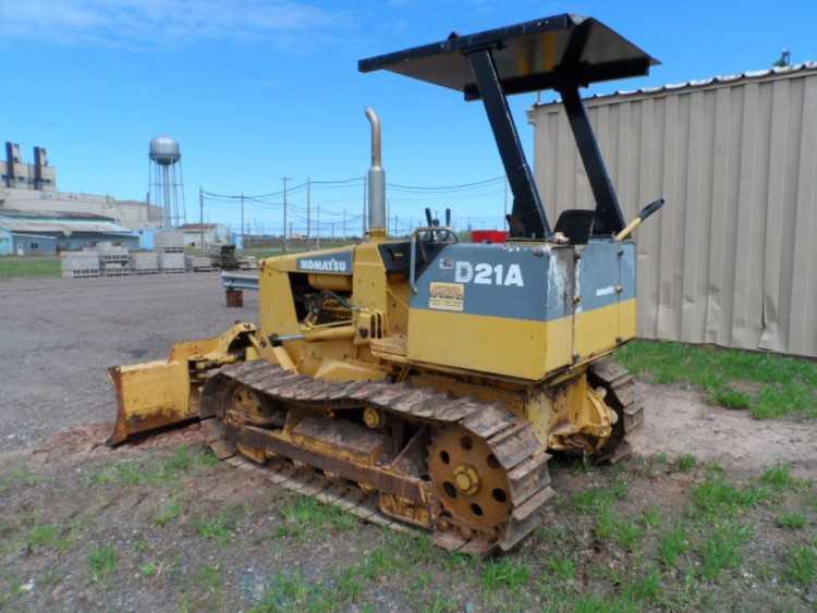 Komatsu D21A Dozer   Minnesota   Forestry Equipment Sales