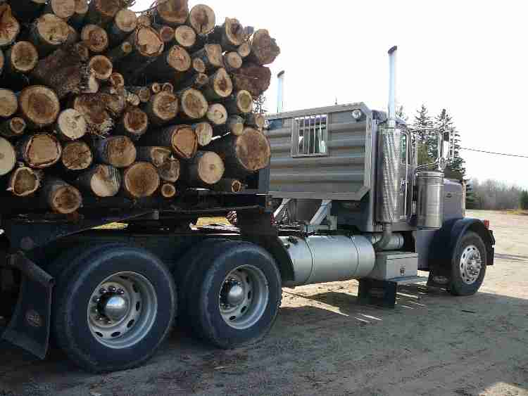 Peterbilt 379 Log Truck | Minnesota | Forestry Equipment Sales