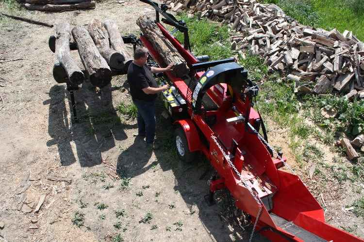 2019 Wood Beaver Model 18 BAB Firewood Processor
