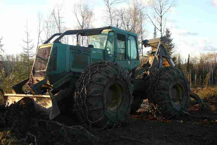 460 d timberjack Skidder manual