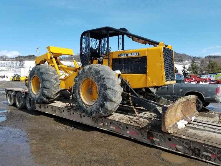 John Deere 740 Skidder | Minnesota | Forestry Equipment Sales
