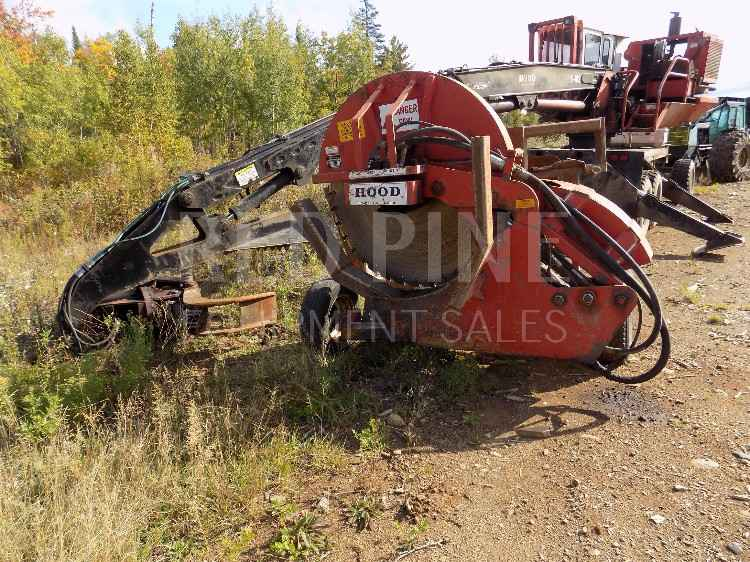 Hood S-182 Self Propelled Loader Slasher