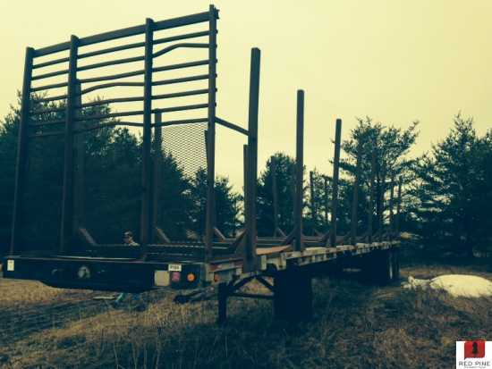 Fruehauf 45' 4 Bunk Log Trailer