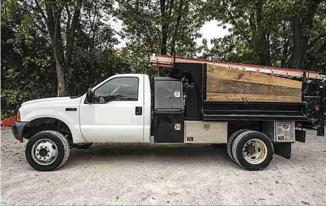 F450 Dump Truck For Sale >> Ford F 450 4x4 Dump Truck Minnesota Forestry Equipment Sales