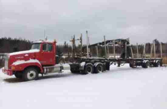 Great Lakes 42' Spread Axle Trailer