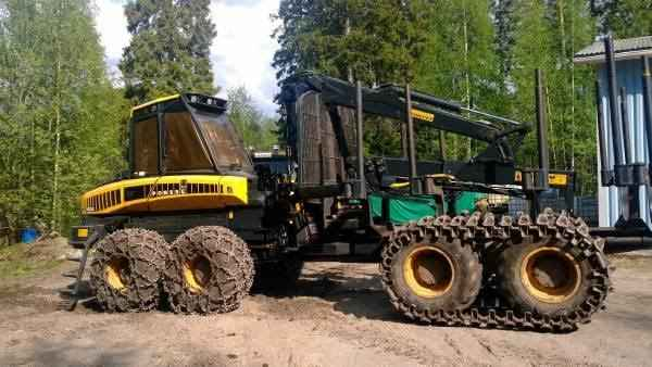 Ponsse Buffalo Forwarder