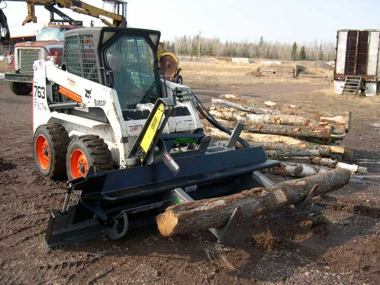 firewood machine