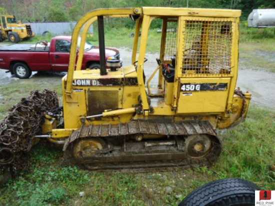 Tractor Forestry Package : John deere g dozer minnesota forestry equipment sales