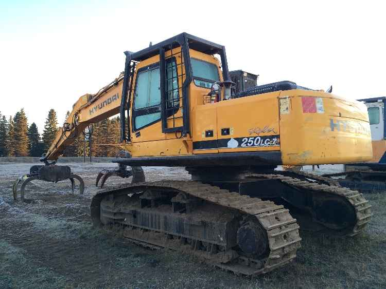 2006 Hyundai 250 LC-7 Log Loader High Walker