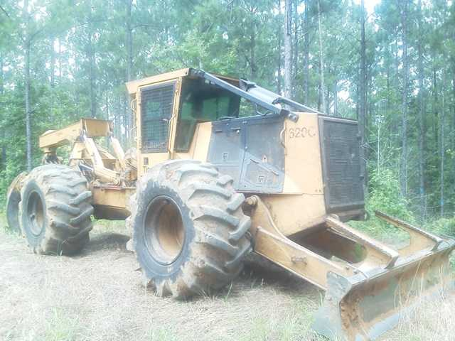 Tigercat 620C D/A Grapple Skidder