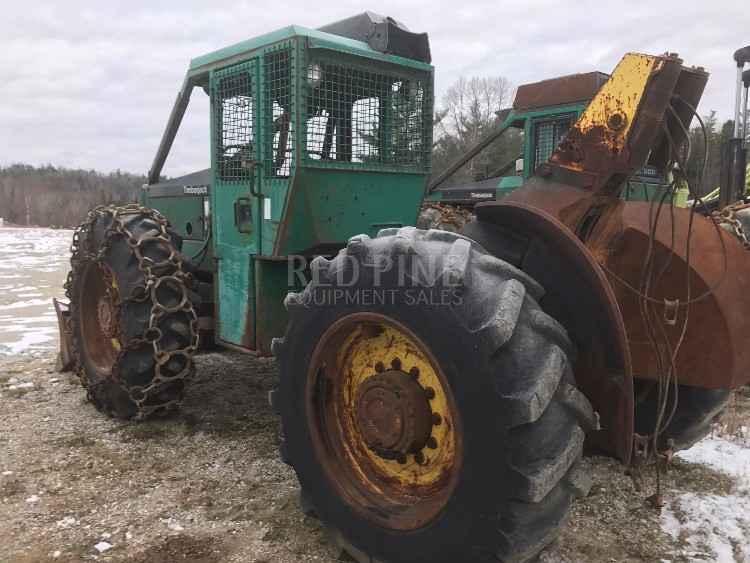 2) Timberjack 240B Cable Skidder | Minnesota | Forestry Equipment Sales