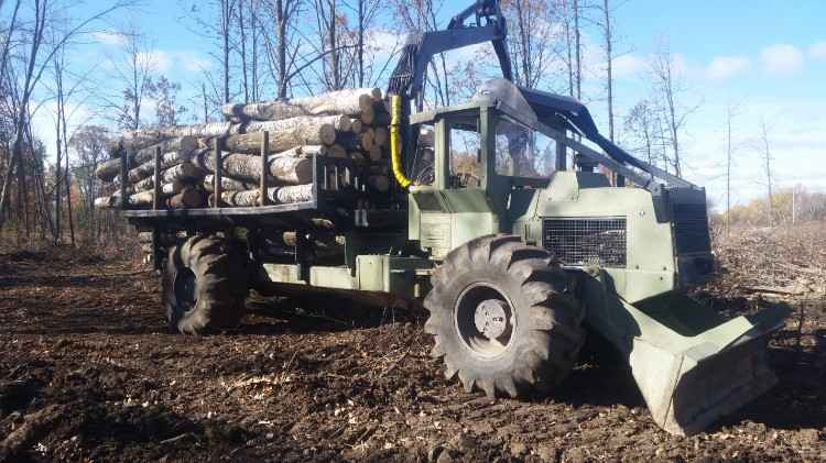 Tree Farmer C6D Forwarder ***SOLD***