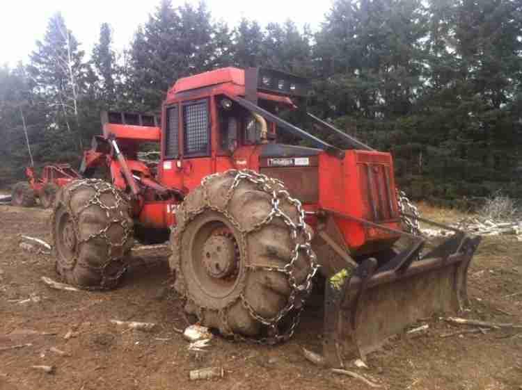 Timberjack 450B Skidder ***SOLD***   Minnesota   Forestry