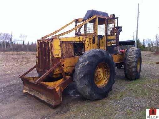 Clark 666D Cable Skidder ***SOLD***