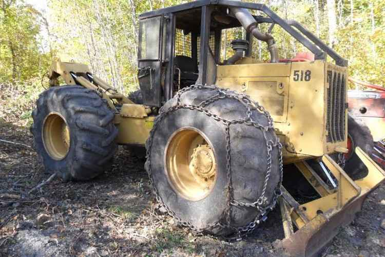 CAT 518 Skidder ***SOLD*** | Minnesota | Forestry Equipment