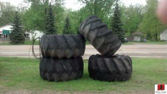 Used Firestone 34.00 x 26 Tires and Rims ***SOLD***