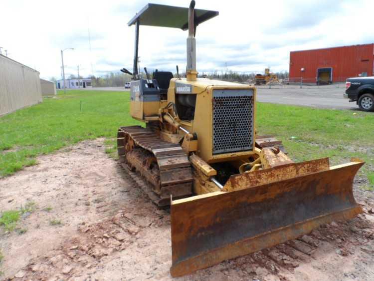 Komatsu D21A Dozer | Minnesota | Forestry Equipment Sales