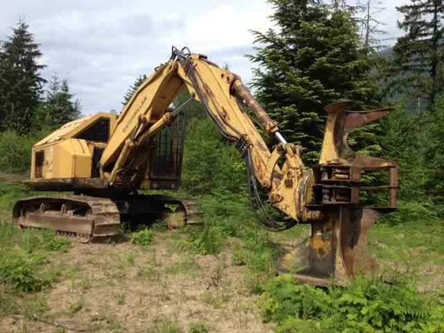 CAT 227 Feller Buncher | Minnesota | Forestry Equipment Sales