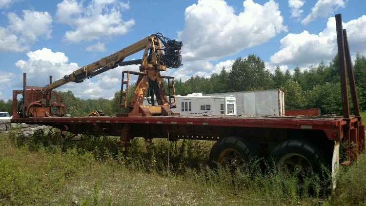 Transcraft 40' Log Trailer