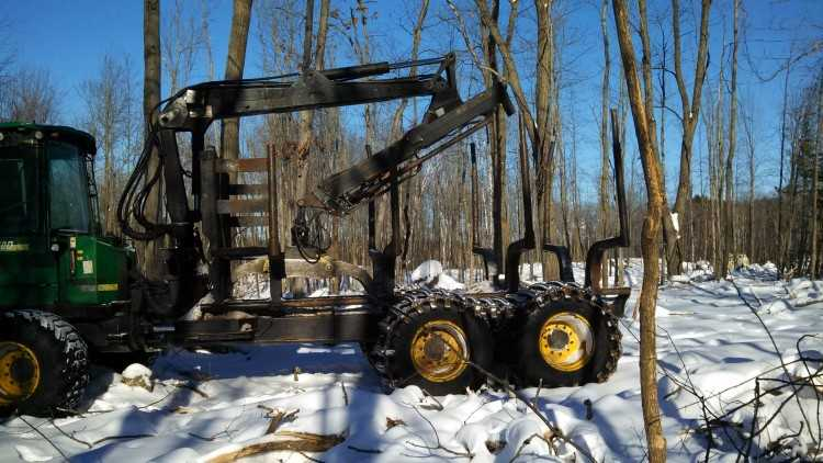 John Deere 1410D 8 Wheel Forwarder | Minnesota | Forestry ...