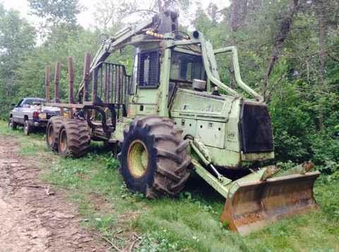 Franklin 670 Forwarder Sold Minnesota Forestry