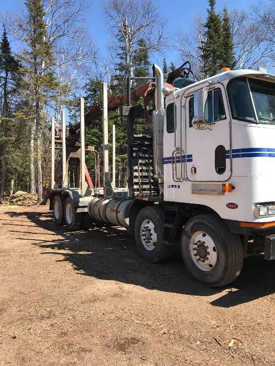 Peterbilt 362 Log Truck with Serco 8000 Loader *SOLD